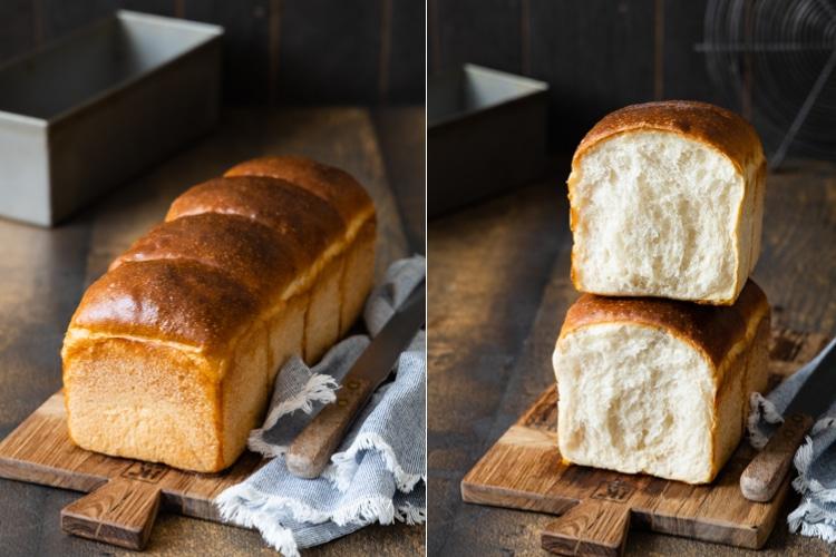 Softes Sandwichbrot | goldenes Butter Toastbrot