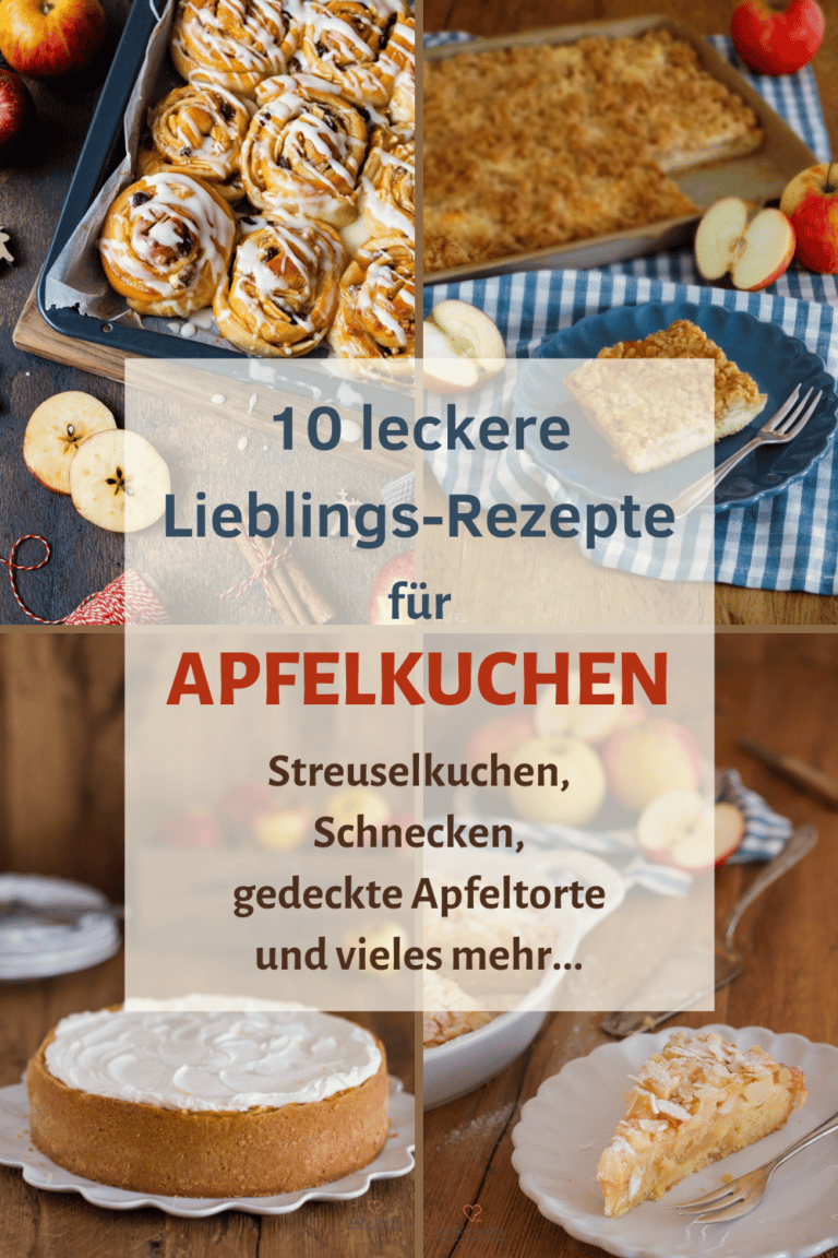 Apfelkuchen | 10 Lieblings-Rezepte