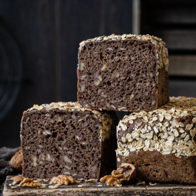 WaldNuss Brot | Einfaches Kastenbrot mit Walnuss