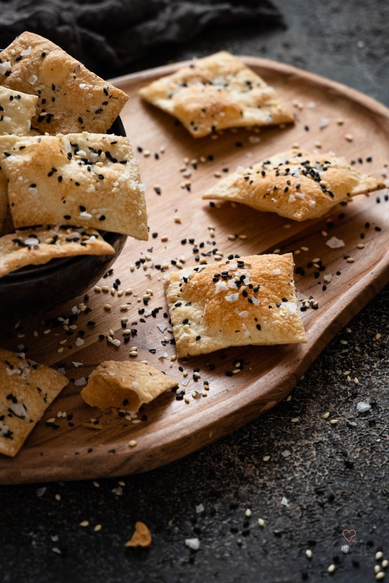 Knusper Cracker – Grundrezept | Mit Sauerteig möglich