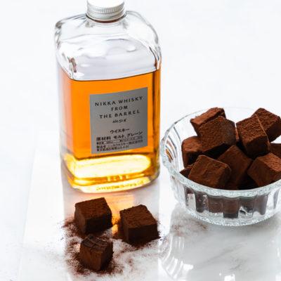 Whisky Trüffel | schokoladig & zartschmelzend (nur 5 Zutaten)