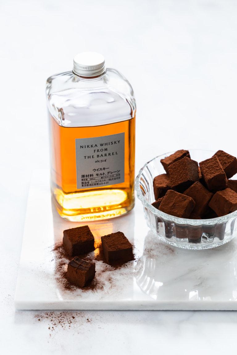 Whiskey Trüffel, schokoladig und zartschmelzend aus nur 5 Zutaten