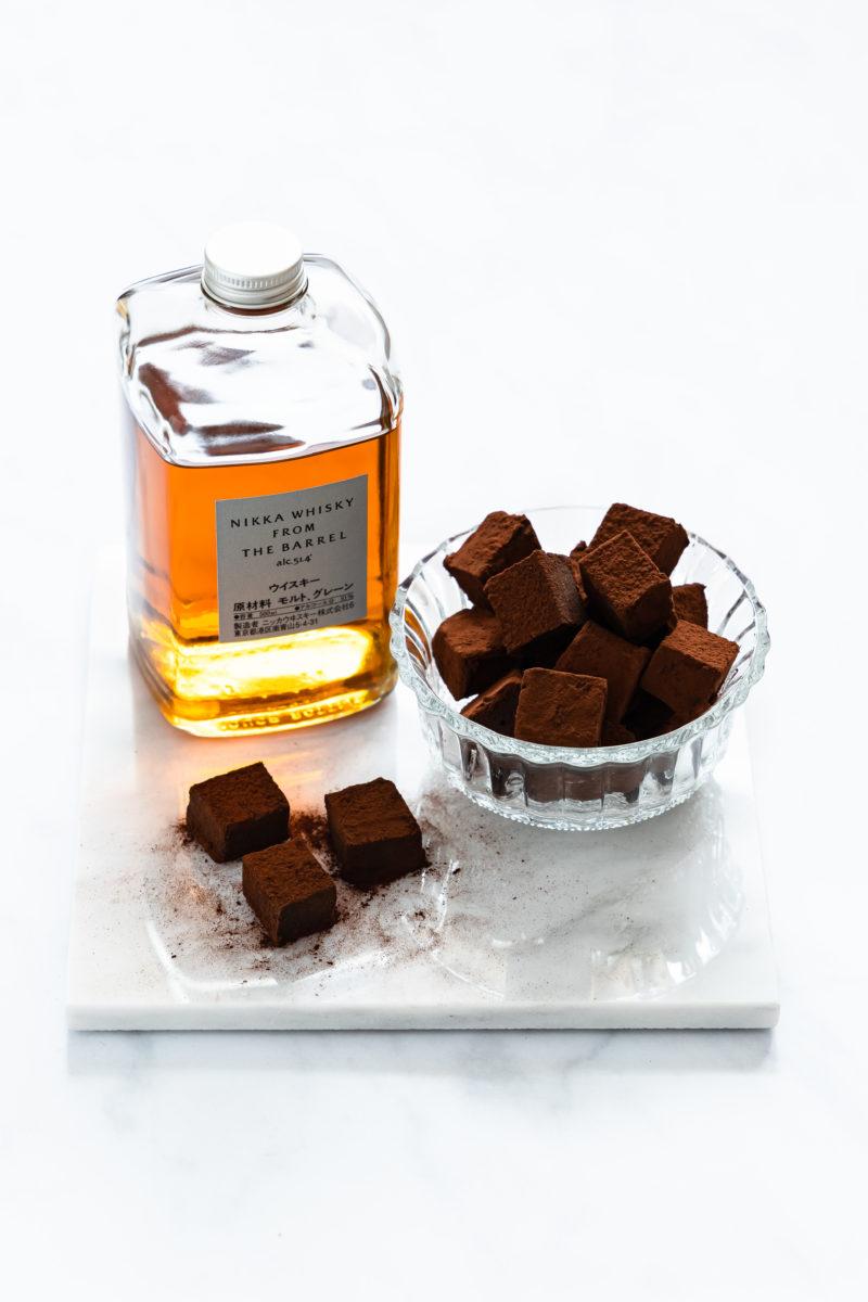Whisky Trüffel, schokoladig und zartschmelzend aus nur 5 Zutaten