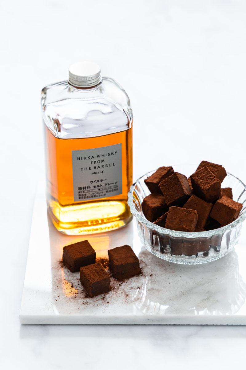 Whisky Sahne Trüffel, schokoladig und zartschmelzend aus nur 5 Zutaten