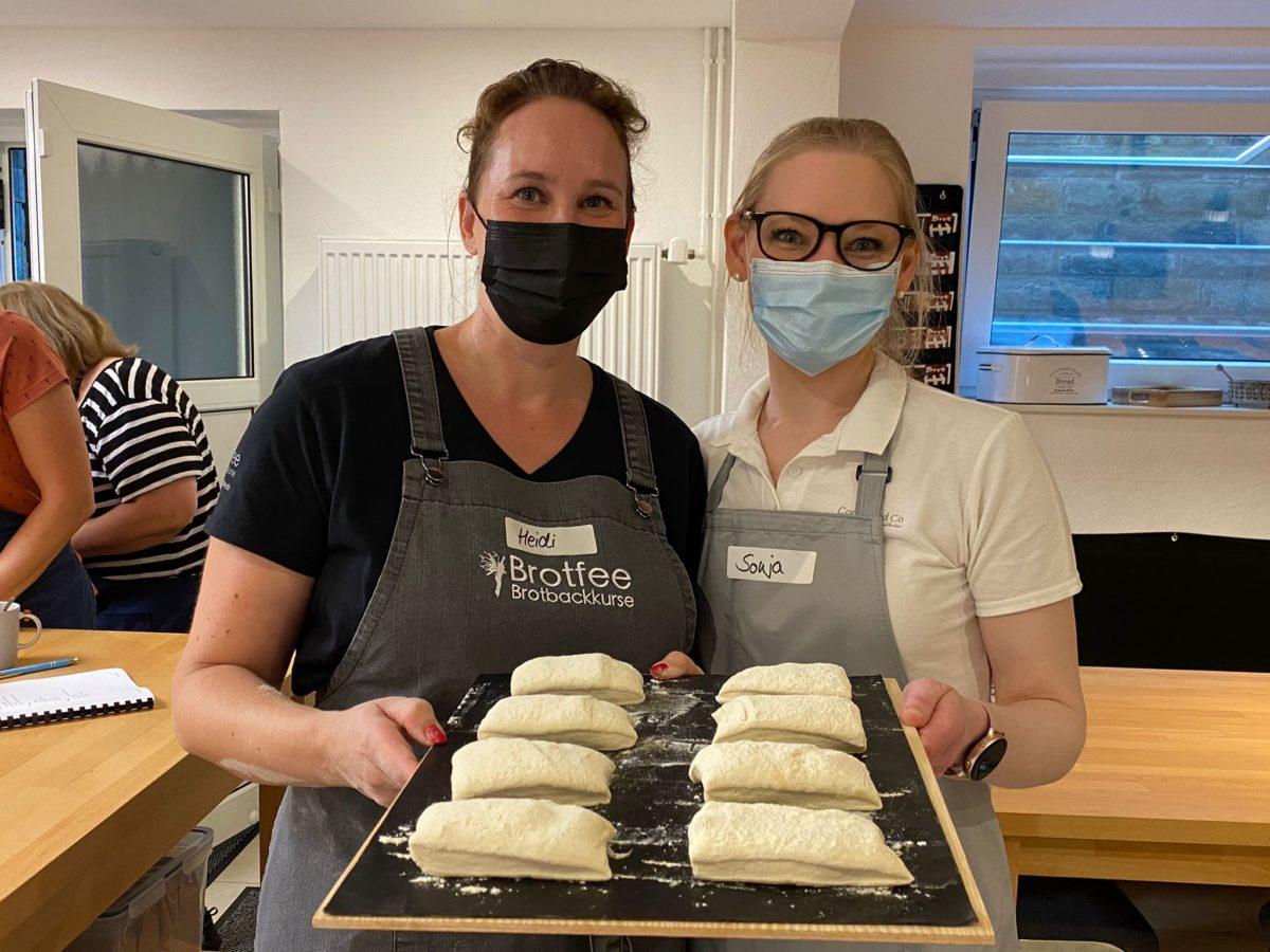 Backkurs Cookie und Co und Brotfee Heidi Schlautmann